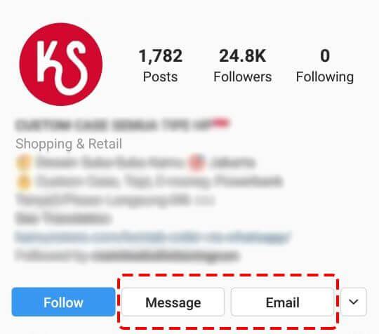 kelebihan akun bisnis instagram